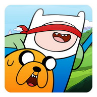 Adventure Time Blind Finned - Follow Finn and Jake on their next adventure