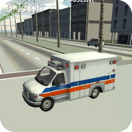 Ambulance Driving Simulator 3D