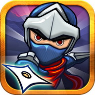 Angry Ninja - A game with a board-breaking, ill-tempered ninja