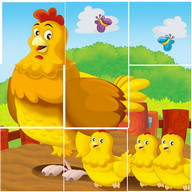 Animal Cartoon Jigsaw Puzzle