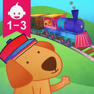 Animal Train for Toddlers