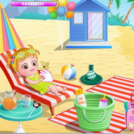Baby Hazel Beach Holiday