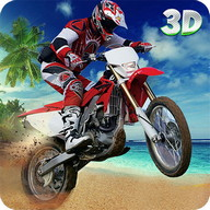 Beach Bike Extreme Stunts 3D