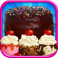 Cake & Ice Cream Maker FREE - Kids cooking Games