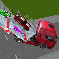 Car Transporter Truck 3D