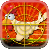 Chicken Hunt - Shoot down the flying chickens and get points!