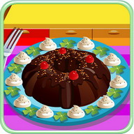 Chocolate Cake Cooking