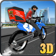 City Pizza Delivery Guy 3D