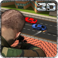 City Sniper Highway Traffic 3D