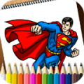 Coloring Book Superheroes