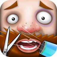 Crazy Beard Salon - free games