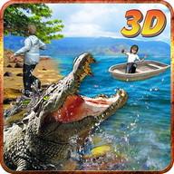 Crocodile Attack Simulator 3D