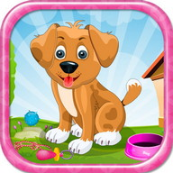 Day With Puppy Girls Games