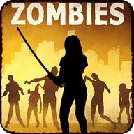 Target Dead Walking Zombies