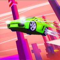 DodgeFall - Drive at top speed on impossible racetracks