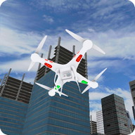 3D Drone Flight Simulator Game