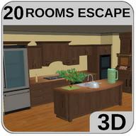 3D Escape Games-Puzzle Kitchen 2