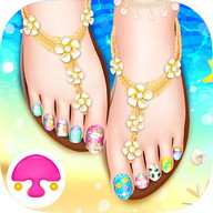 Seaside Feet Salon: Girl Game