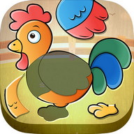 Toddler Kids puzzle - Animals