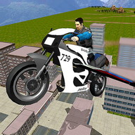 Fliegen Police Bike Simulator