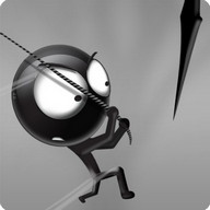 Stickman Forest Swing - Swing around the forest dodging spikes