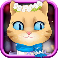 Kitty Dress Up-kids games