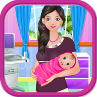 Baby birth girls games