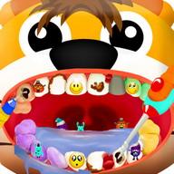 Pets dentist animal games