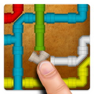 Pipe Twister - Put pipes together so water flows from one place to another