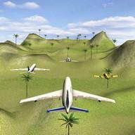 Flugzeuge Fliegen - Luftrennen