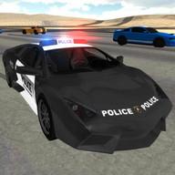 Polis arabası sürüşü