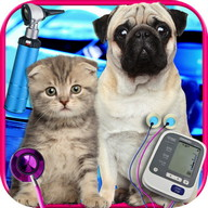 My Real Newborn Pet Vet - Pugs & Kittens FREE