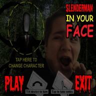 SlenderMan LIVE - SlenderMan lurks... run... don't look... run!