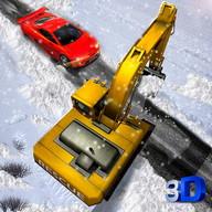 Snow Rescue Excavator Sim