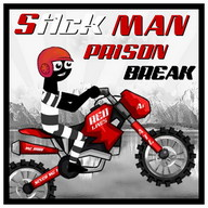 Stickman Prison Break escape