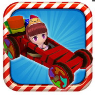 Sugar Rush Racing - Very colorful car racing game