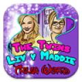 The Twins Liv y Maddie Trivia Word