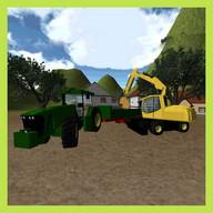 Tractor Simulator 3D: Sand