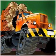 wood truck lumberjack tractor