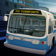 Free Bus Passenger Park it 3D