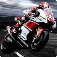 Asphalt Moto - Night time motorbike racing