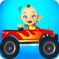 Baby Monster Truck Game Cars
