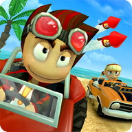 Beach Buggy Racing - Crazy racing in the style of Mario Kart