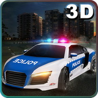 Pilote City Car police Sim 3D