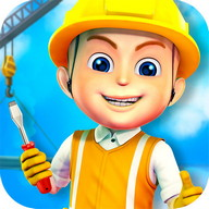 Construction City For Kids