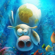 Cow Dash: Extreme Underwater Adventure