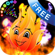 Doodle Fire! Kids Glow Draw!