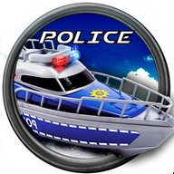Emergency Police Boat Drive 3d - Chase bad guys in an emergency boat