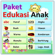 Materi Belajar Lengkap Anak PAUD TK SD