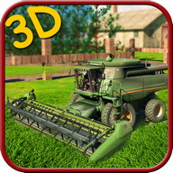 Harvester Machine 3D Simulator